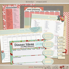 Kitschy Organized by Jenn Barrette and Sahlin Studio
