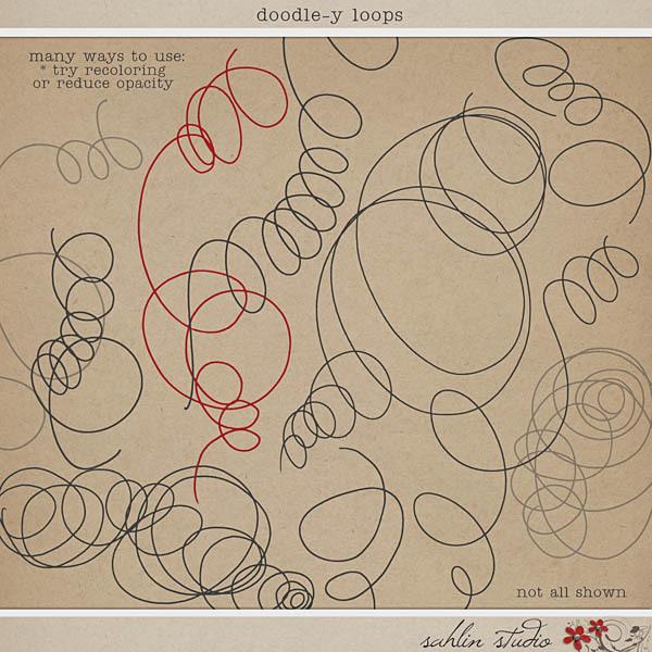 Doodle-y Loops by Sahlin Studio