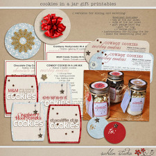 Cookies in a Jar Gift Printables by Sahlin Studio