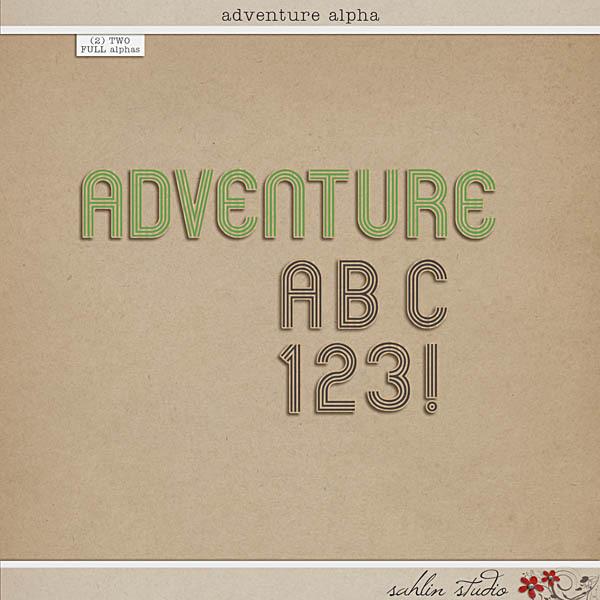 Adventure Alpha by Sahlin Studio