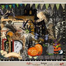 Mansion Masquerade by Britt-ish Designs, DeCrow Designs, Sahlin Studio and Tangie Baxter