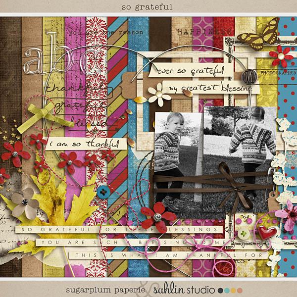 So Grateful by Sahlin Studio an Sugarplum Paperie