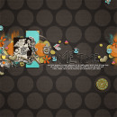digital scrapbooking layout featuring Funky & Chunky Wire Alpha by Sahlin Studio