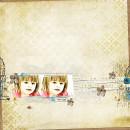 digital scrapbook layout featuring So Grateful by Sahlin Studio an Sugarplum Paperie