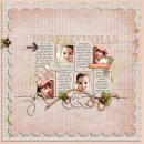 digital scrapbooking layout featuring I Wanna Scrap Like You When I Grow Up Templates: JenJ by Sahlin Studio