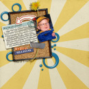 digital scrapbooking layout featuring Getting Started: Journal Prompts by Sahlin Studio