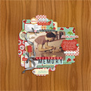 digital scrapbooking layout featuring Kitschy Kitchen: Collection by Jenn Barrette and Sahlin Studio