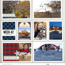 digital pocket scrapbook layout by ctmm4 featuring Mad For Plaid by Sahlin Studio