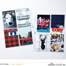 December Daily Project Life layout featuring Mad For Plaid by Sahlin Studio