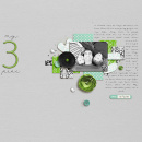 digital scrapbooking layout featuring This Moment (Elements) by Sahlin Studio