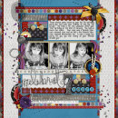 digital scrapbooking layout featuring New Year's Eve Collection by Valorie Wibbens and Sahlin Studio