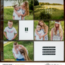 Pause and Reflect Project Life layout using Pause by Sahin Studio
