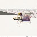Digital scrapbooking layout by mrivas2181 using Pause by Sahlin Studio