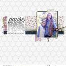 Digital scrapbooking layout by rlma using Pause by Sahlin Studio