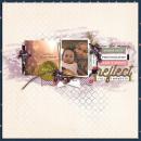Reflect Digital Project Life layout using Pause by Sahin Studio