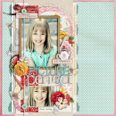digital scrapbooking layout featuring practically perfect by juliana kneipp and sahlin studio