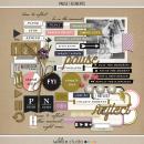 Pause   Elements by Sahlin Studio - Gratitude Scrapbook Kit
