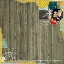 digital scrapbooking layout featuring Stamped Dates by Sahlin Studio