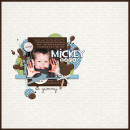digital scrapbooking layout featuring Sweetness Word Art by Britt-ish Designs and Sahlin Studio