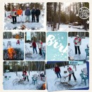 Snow digital Project Life layout featuring Project Mouse: Ice by Britt-ish Designs and Sahlin Studio