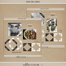 Photo Tabs | Weeks & Months BUNDLE by Sahlin Studio - Perfect for Project Life or 365!!