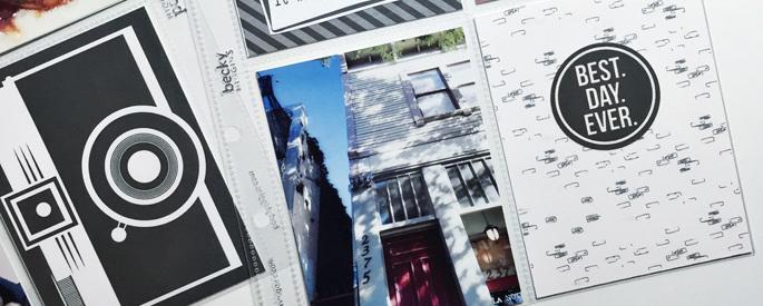 Sahlin Studio Project Life Layout