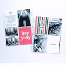 Keep Going Project Life page using Love your Body by Sahlin Studio
