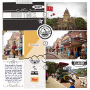Disney Main Street digital Project Life page using Project Mouse: Classic by Britt-ish Designs and Sahlin Studio