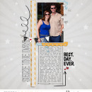 Best Day Ever digital scrapbooking page using Project Mouse: Classic by Britt-ish Designs and Sahlin Studio