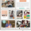 """Week 13 digital project life page using Photo Journal No.2 (4x6"""" Templates) by Sahlin Studio"""