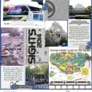 """Sights digital project life page using Photo Journal No.2 (4x6"""" Templates) by Sahlin Studio"""
