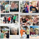 """Week 11 digital project life double page using Photo Journal No.2 (4x6"""" Templates) by Sahlin Studio"""