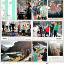 """Week 11 digital project life double pageL using Photo Journal No.2 (4x6"""" Templates) by Sahlin Studio"""