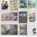 """Like digital project life page using Photo Journal No.2 (4x6"""" Templates) by Sahlin Studio"""
