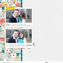 "Digital Scrapbooking page using Photo Journal No.2 (4x6"" Templates) by Sahlin Studio"