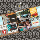 Disney's Autopia digital scrapbooking page by justine using Project Mouse (Cars) by Britt-ish Designs and Sahlin Studio