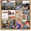 Disney's Tow-Mater digital pocket scrapbooking page using Project Mouse (Cars) by Britt-ish Designs and Sahlin Studio