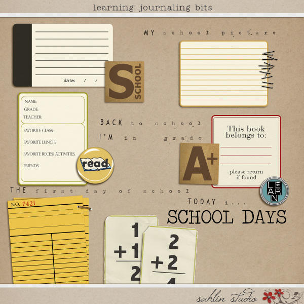 Learning: Journaling Bits by Sahlin Studio