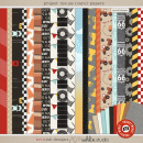 Project Mouse (Cars): Papers by Britt-ish Designs and Sahlin Studio - Perfect for Disney's Cars, Carsland, Radiator Spring or racing moments for your Project Mouse or Project Life Albums!!
