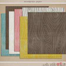 Woodgrain Papers by Sahlin Studio