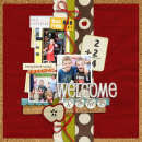layout featuring String Tied Alpha by Sahlin Studio