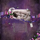 layout featuring After Dark by Sahlin Studio