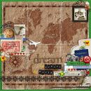 layout featuring Around the World by Britt-ish Designs and Sahlin Studio