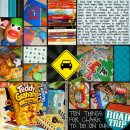 layout featuring Lots O' Photos Templates (Blocked) by Sahlin Studio