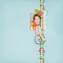 layout featuring Snipettes: Easter by Sahlin Studio