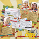 layout featuring Snipettes: Enjoy the Moment by Sahlin Studio