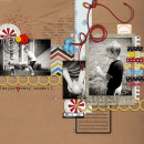 layout featuring Enjoy the Moment by Sahlin Studio