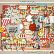 Vintage Carnival by Jennifer Barrette and Sahlin Studio