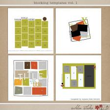 Blocking Templates by Sahlin Studio