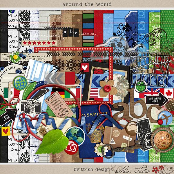 Around the World by Britt-ish Designs and Sahlin Studio